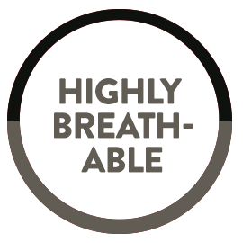 highly breathable