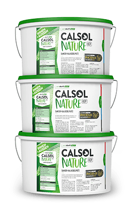 Premium lime finish aerodurit® CALSOL NATURE KEP