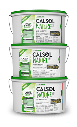 Roll- and brush-on plaster aerodurit® CALSOL NATURE RS