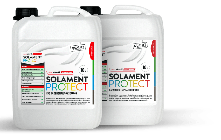 Protect your masonry with aerodurit® SOLAMENT PROTECT