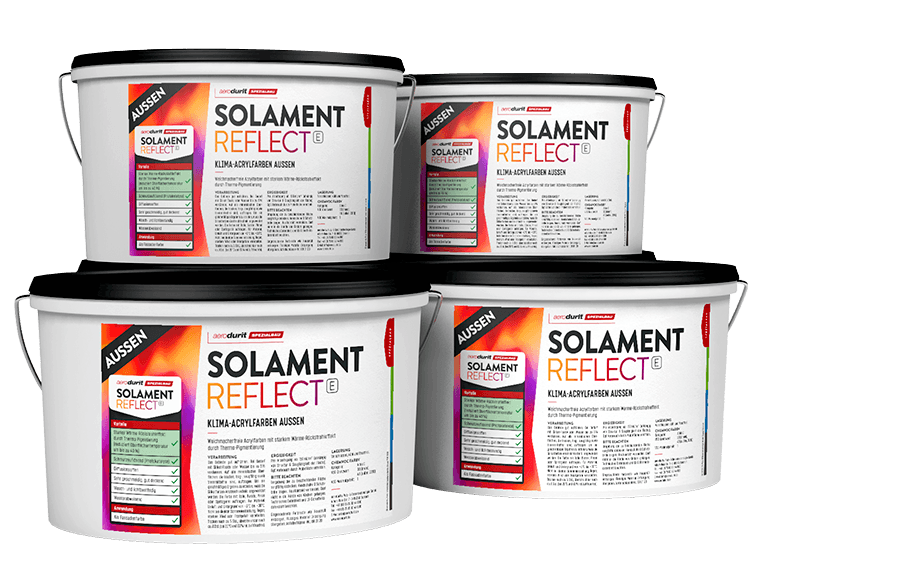 aerodurit® SOLAMENT REFLECT Klima-Acrylfarben